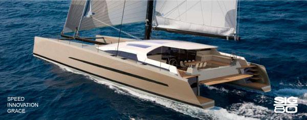 Le Breton High Performance Multihull Sailing Yachts